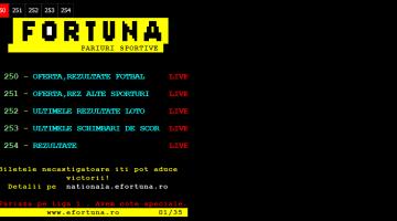Fortuna Teletext