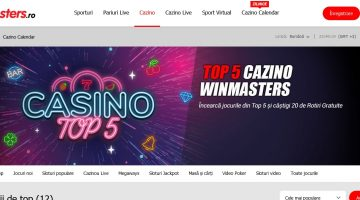 Intra in casinoul de la Winmasters