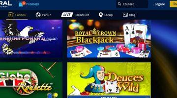Admiral are jocuri de casino moderne