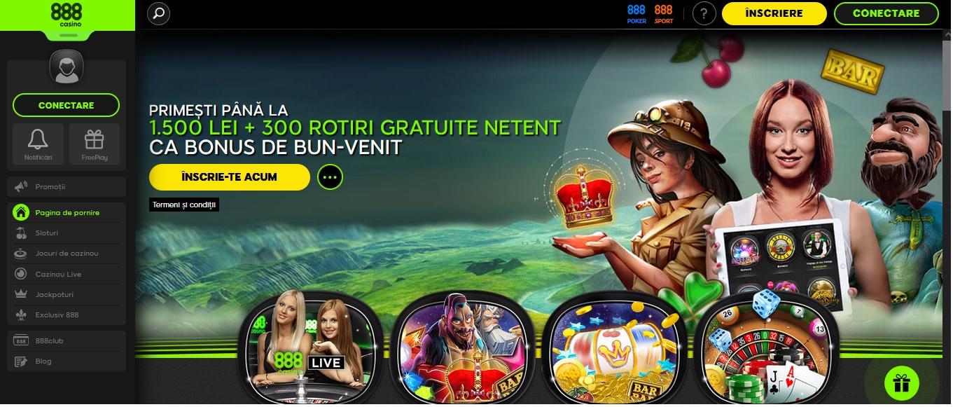 Cea mai discreta aplicatie casino la 888