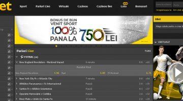 Porniti la pariuri sportive cu Efbet Romania