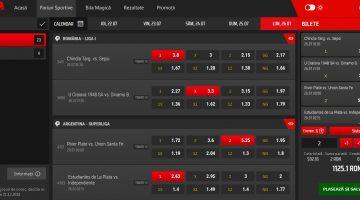 Realizarea pariurilor sportive pe Total Bet