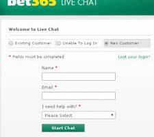 Cum pot lua contact cu bet365 daca am probleme