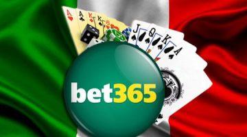Italienii pot juca linisti pe varianta bet365 Italia