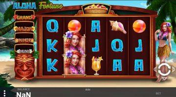 Aloha Fortune cand te simti in caraibe la slots