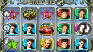 Beverly Hills 90210 iata si eroii de seriale la sloturi