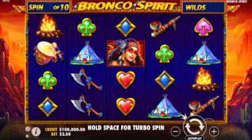 Bronco Spirit un slot care ne aminteste de vermurile indiene