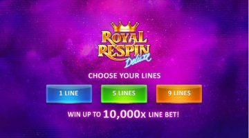 Royal Respin Deluxe sa ne simtim ca la sloturile din baruri