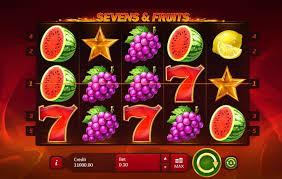 Sevens & Fruits castigi cat cu prinde cu fructe si 7-ari