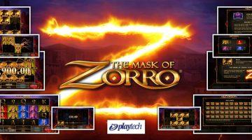 The Mask of Zorro acest personaj nu putea lipsii la slot
