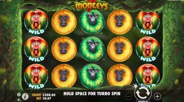 7 Monkeys este legenda care vine si la sloturi
