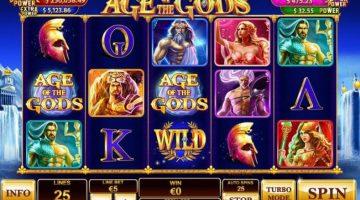 Age of the Gods un slot pentru fanii mitologiei grecesti