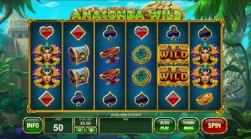 Anaconda Wild un slot jucat in salbaticia junglei