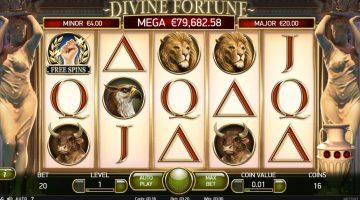 Divine Fortune zietatile sunt cu tine la rotiri gratuite