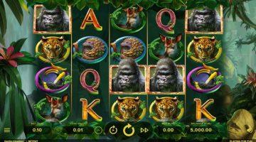 Gorilla Kingdom din nou in jungla rotiri gratuite si castig
