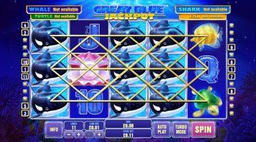 Great Blue Jackpot vine cu castiguri mari din adancuri