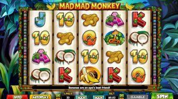 Mad Mad Monkey nebunia junglei plina de rotiri gratuite