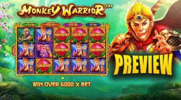 Monkey Warrior este razboinicul preferat la rotiri gratuite