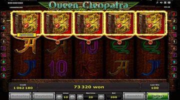 Queen Cleopatra slot despre comorile ascunse egiptene
