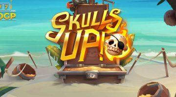 Skulls Up si ia un loc pe plaja din Caraibe la castiguri