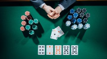 Pariuri posibile pe river si tur la mese Poker Texas Holdem