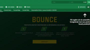 Joaca Bounce pe Unibet pentru premii, bani si rotiri gratis