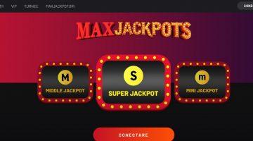 Maxjackpots special pentru fanii genului in oferta Maxbet