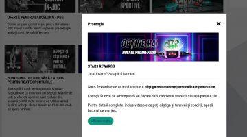 Star Rewards program premii personalizate pe Betstars