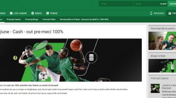 Unibet introduce cash out pre-meci de suta la suta
