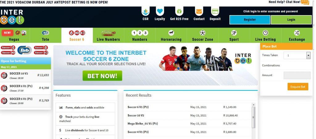 Interbet.co.za