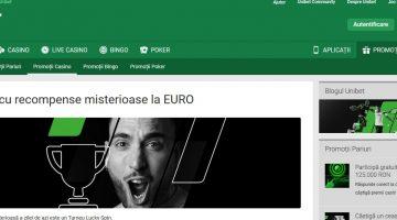 Descopera jocurile de casino la Unibet cu premii EURO