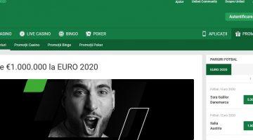 Unibet ofera cel mai mare jackpot la EURO2020