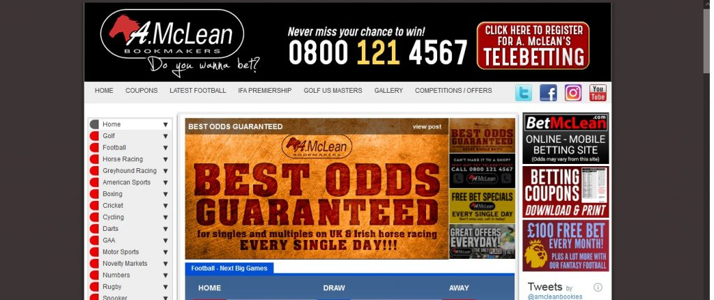 A McLean Bookmakers