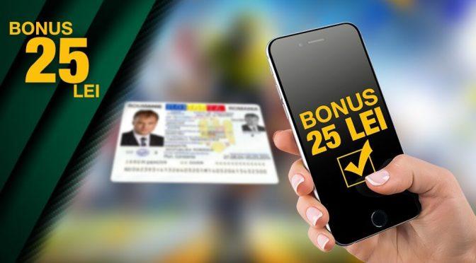 Ai bonus 25 de lei daca iti verifici contul pe Gets Bet